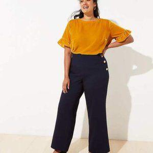 Woman's Loft plus Sailor Hi Waist Trouser Pants 20
